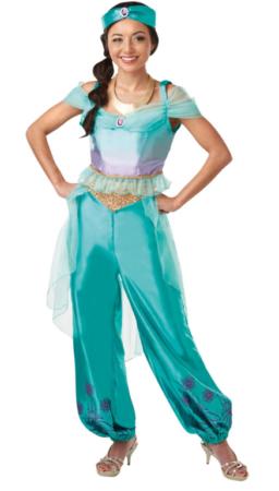 prinsesse jasmin kostume til voksne arabisk voksnekostume prinsesse kostume til voksne alladdin kostume aladdin kostume til voksne