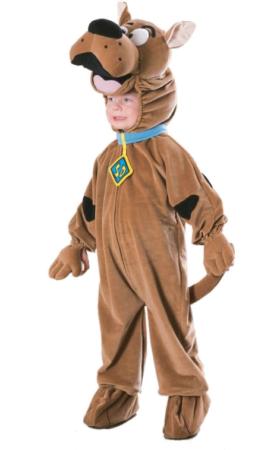 scooby doo hund kostume til børn