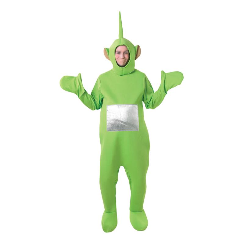 teletubbies dipsy kostume til voksne teletubbies kostume til voksne teletubies grøn udklædning polterabend rusfest sidste skoledag karnevalskostume