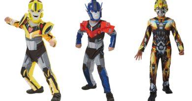 transformers kostume til børn fastelavnskostume til drenge optimus prime kostume til børn bumblebee børnekostume 390x205 - Transformers kostume til børn