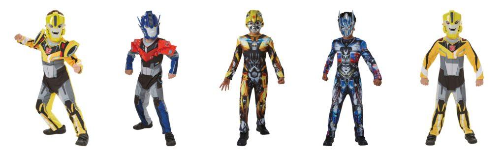 transformers kostume til børn kostume til drenge fastelavnskostume til drenge optimus prime kostume til børn bumblebee børnekostume