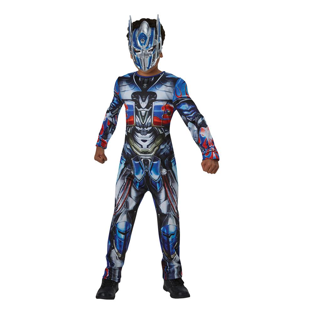 transformers kostume til børn the last knight optimus prime børnekostume fastelavnskostume til børn fastelavnsudklædning transformers