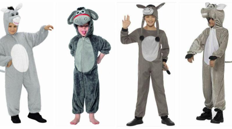 æsel kostume til børn æsel heldragt æsel børnekostume æsel fastelavnskostume æsel udklædning æsel billigt æsel kostume billigt kostume