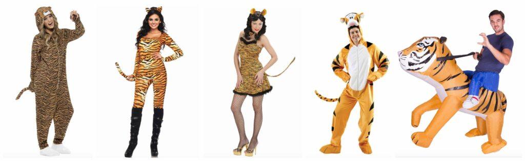 BeFunky collage 21 1024x314 - Tiger kostume til voksne