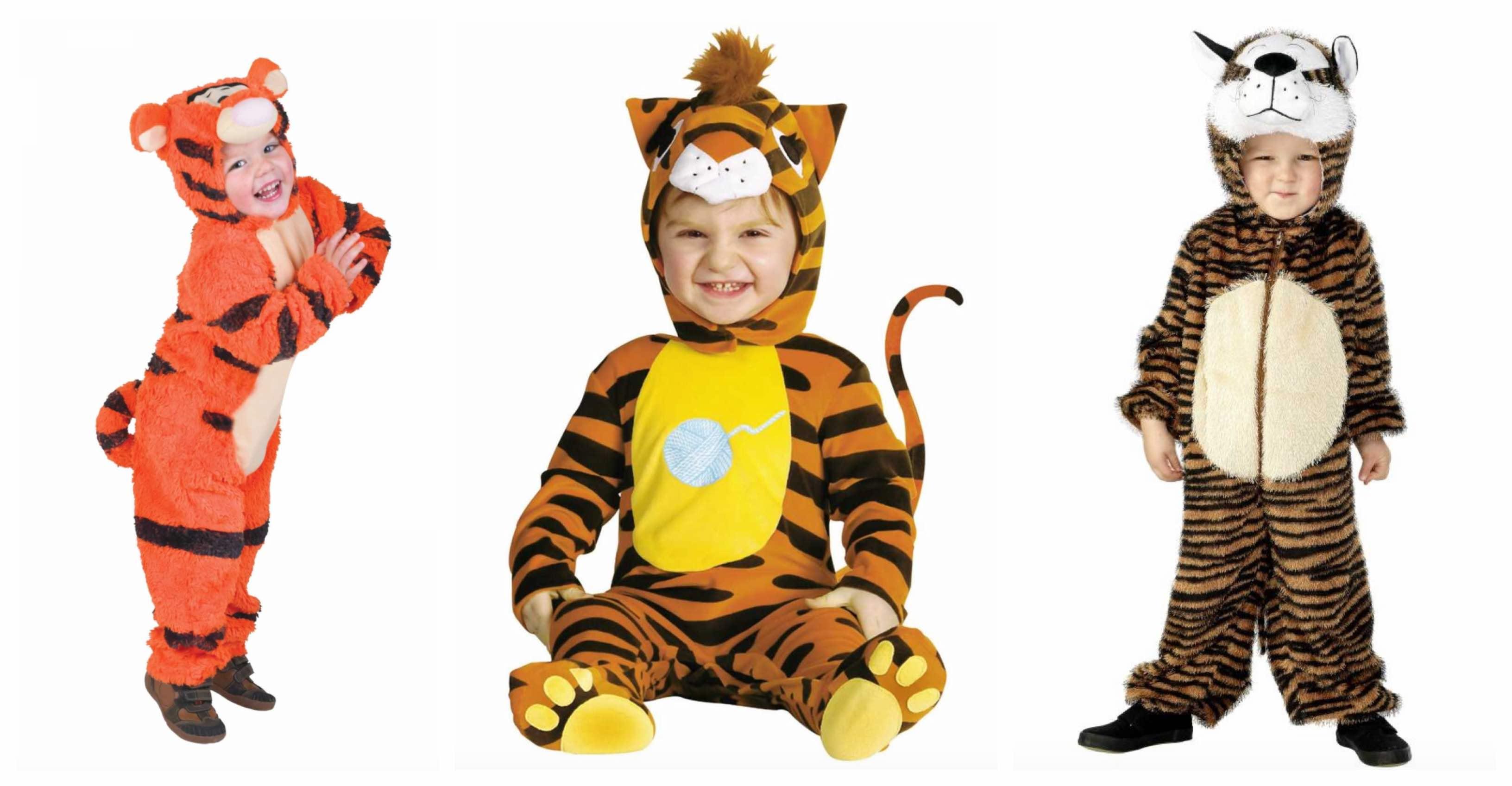 Tiger kostume til børn og baby KostumeUniverset
