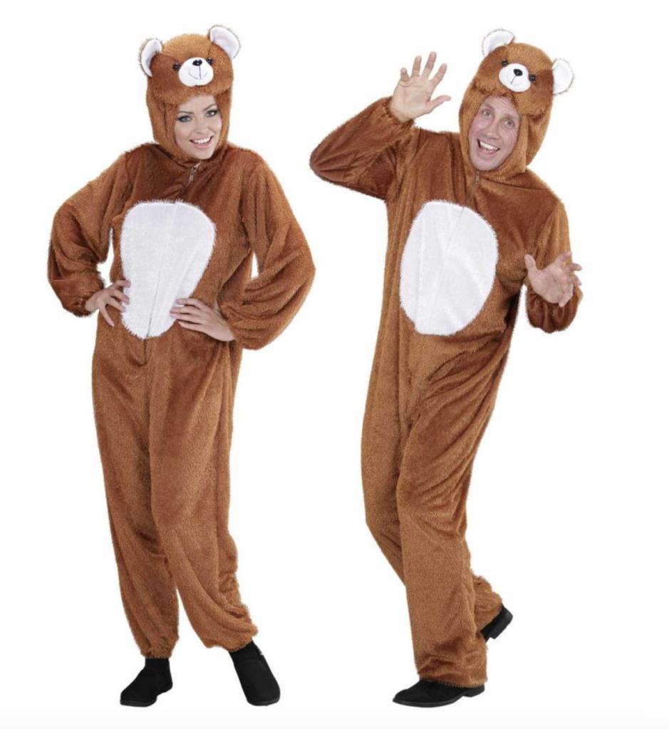 bjørne kostume voksen