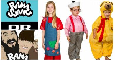 Dr ramasjang kostume onkel reje kostume fastelavnskostume til drenge bamse kostume rosa fra rouladegade kostume til piger 390x205 - Ramasjang kostume til børn