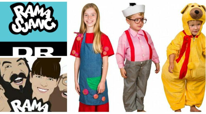 Dr ramasjang kostume onkel reje kostume fastelavnskostume til drenge bamse kostume rosa fra rouladegade kostume til piger 800x445 - Ramasjang kostume til børn