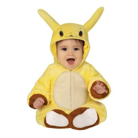 Pikachu babykostume 450x450 - Pikachu kostume til børn og baby