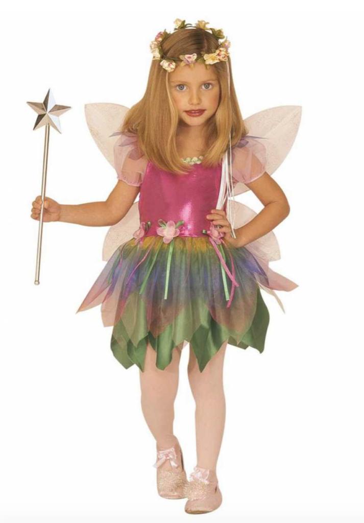Regnbue fe børnekostume 713x1024 - Fe kostume til børn