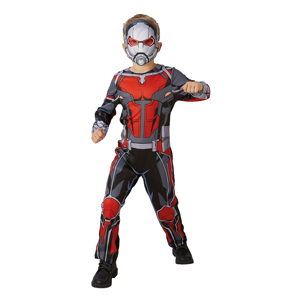 antman kostume ant-man kostume til børn ant-man billig udklædning barn ant-man fastelavnskostume tilbud antman fastelavnstøj ant-man lavpris kostume