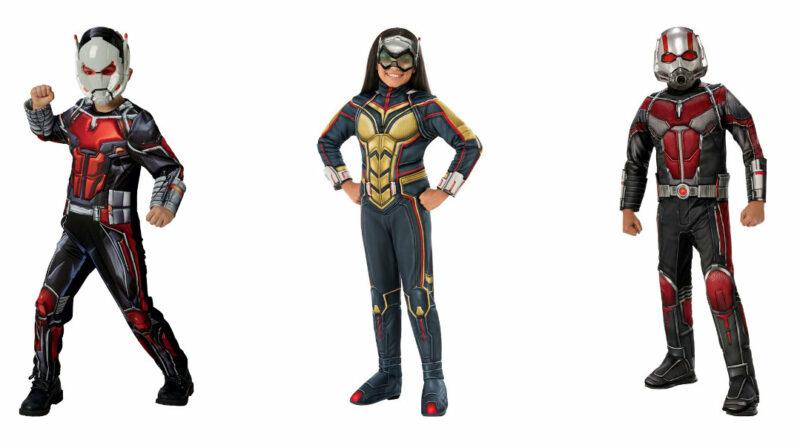 antman kostume ant-man kostume til børn ant-man deluxe udklædning barn ant-man fastelavnskostume antman fastelavnstøj ant-man luksus kostume wasp kostume
