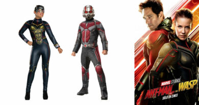 antman kostume ant man kostume til voksne ant man udklædning mand ant man fastelavnskostume antman fastelavnstøj ant man superhelt kostume wasp kostume til voksne 390x205 - Ant-Man kostume til voksne