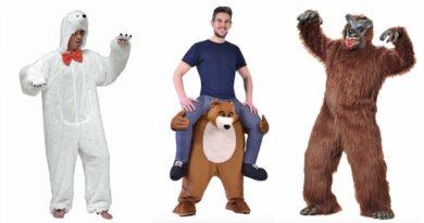 bjørne kostume til voksne
