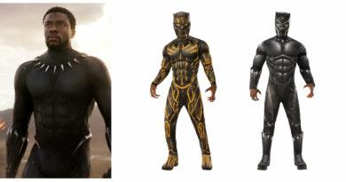 black panther luksus kostume til voksne black panther kostume til voksne black panther kostume til mænd superheltekostume til voksne sort kostume til voksne killmonger kostume til voksne 390x205 - Black Panther kostume til voksne