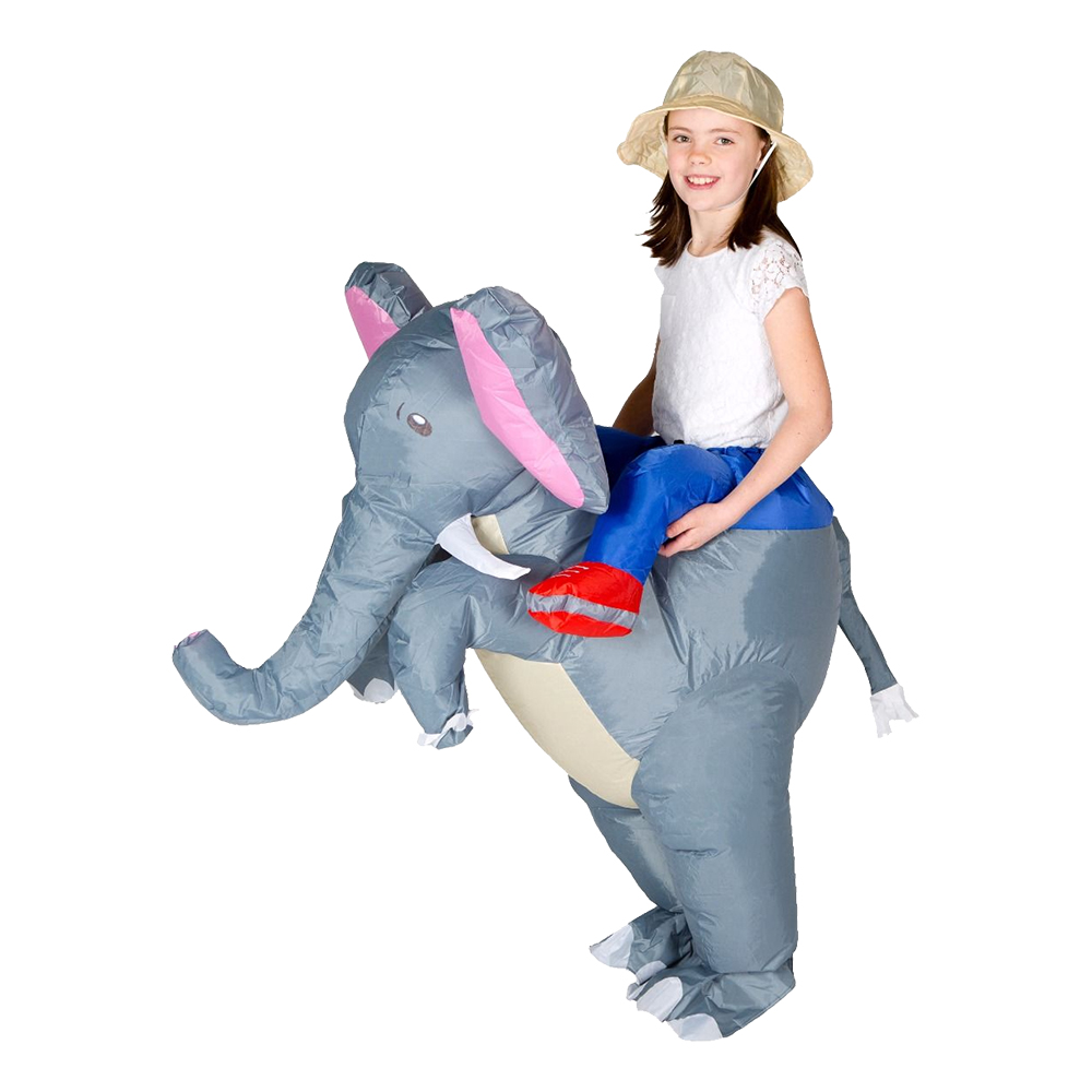 elefant kostume til voksne oppusteligt elefant kostume savanne kostume safari kostume til børn elefant børnekostume elefant fastelavnskostume elefant fastelavnstøj cirkus elefant kostume