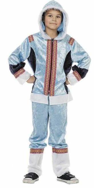 eskimo kostume til børn eskimo blå drenge kostume eskimo børnekostume eskimo udklædning til børn fastelavnskostume til piger arktisk kostume til børn