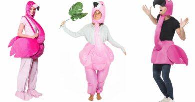 flamingo kostume til voksne 1 390x205 - Flamingo kostume til voksne