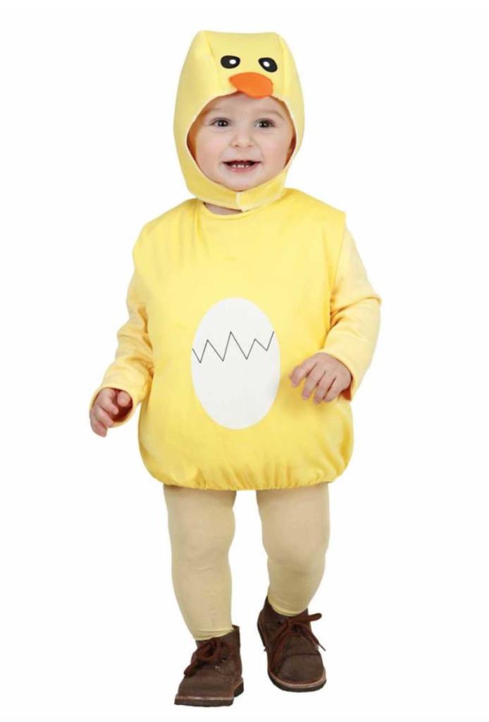 kylling baby kostume 694x1024 - Kylling kostume til børn og baby