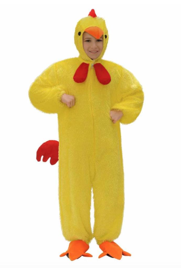 kylling kostume til børn 691x1024 - Kylling kostume til børn og baby