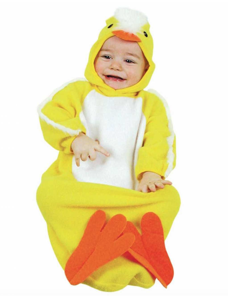 kylling kostume til baby 789x1024 - Kylling kostume til børn og baby