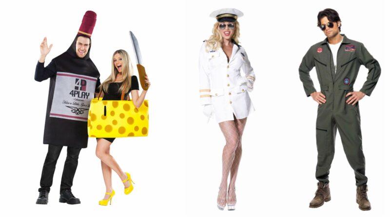 par kostumer til voksne, parkostumer til voksne, par udklædning til voksne, par voksenkostumer, kostumer til par, halloween par kostumer, sjove par kostumer