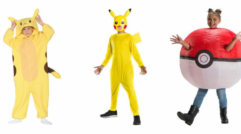 pikachu kostume til børn picachu kostume til børn picachu børnekostume pikachu børnekostume pikachu fastelavnskostume pokemon ball kostume pokeball