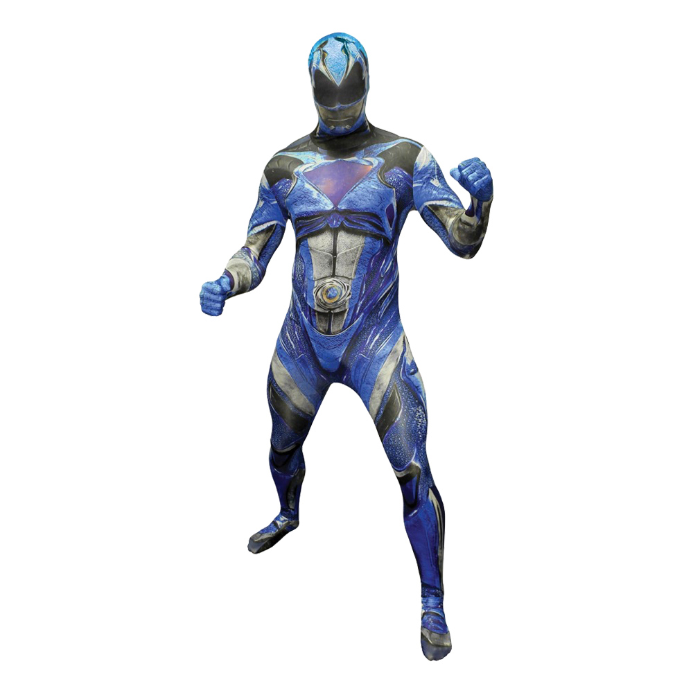 power ranger kostume til voksne power rangers kostume til voksne heldragt udklædning power rangers morphsuit blå power ranger