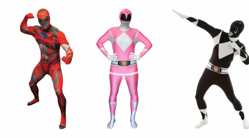power ranger kostume til voksne power rangers kostume til voksne heldragt udklædning power rangers morphsuit pink lyserød power 800x445 - Power Rangers kostume til voksne