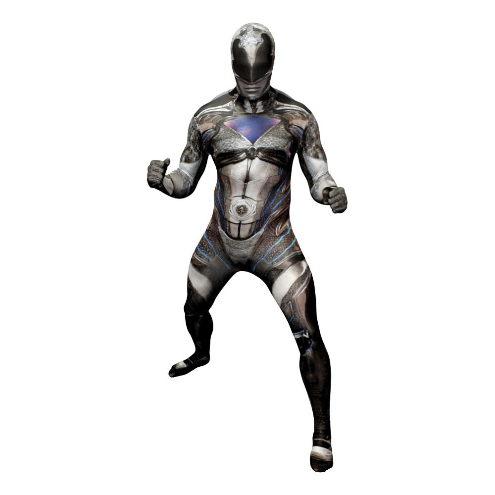 power ranger kostume til voksne power rangers kostume til voksne heldragt udklædning power rangers morphsuit sort power ranger