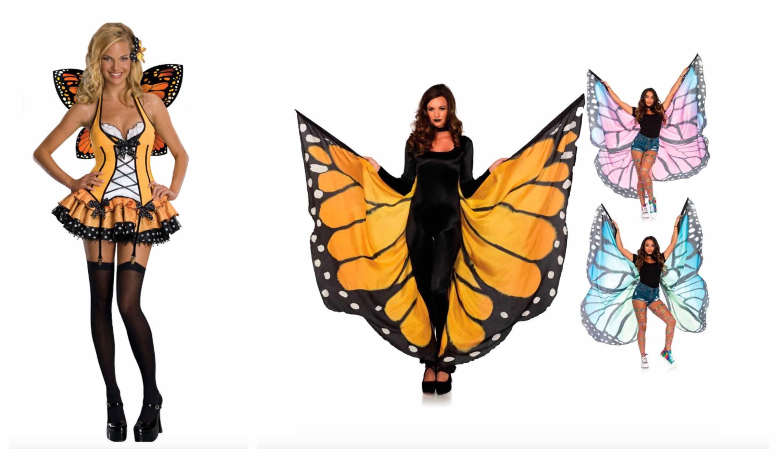 sommerfuglevinger til voksne