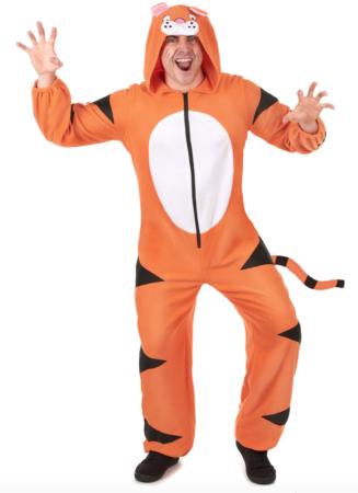 tiger kostume til voksne 327x450 - Tiger kostume til voksne