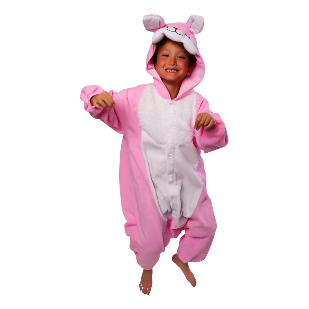 kanin barn kigurumi 1 - Påske kostume til børn