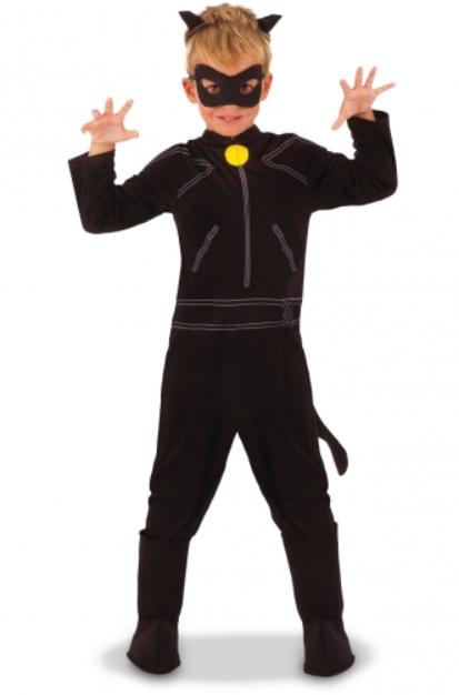 ladybug og cat noir kostume til børn