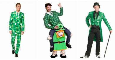 sankt patricks day kostume til mænd carry me kostume luksus kostume skt patricks day kostume sankt patricks dag udklædning grønt kostume ride on grønt jakkesæt