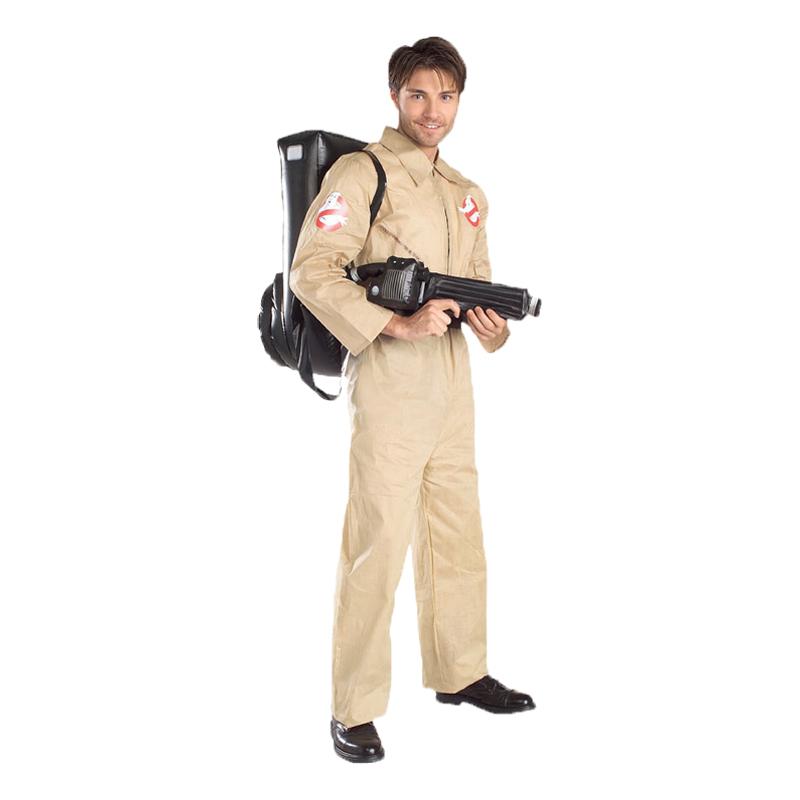 ghostbusters kostume 80er fest kostume 80er kostume til mænd