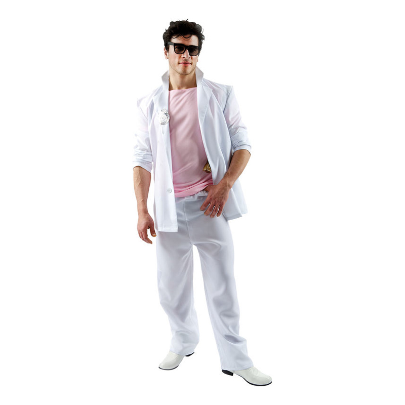 miami vice kostume til mænd 80er kostume 80er fest kostume