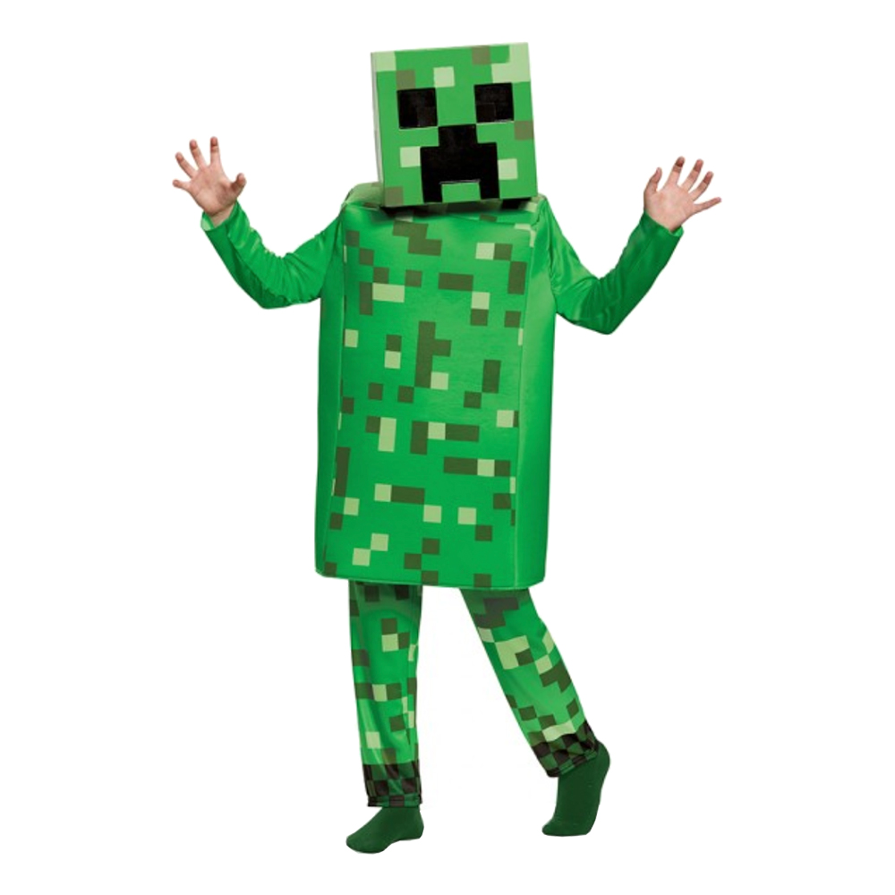 MINECRAFT CREEPER kostume til børn