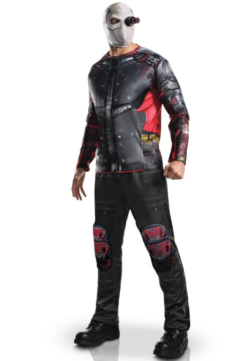 deadshot suicide squad kostume til voksne