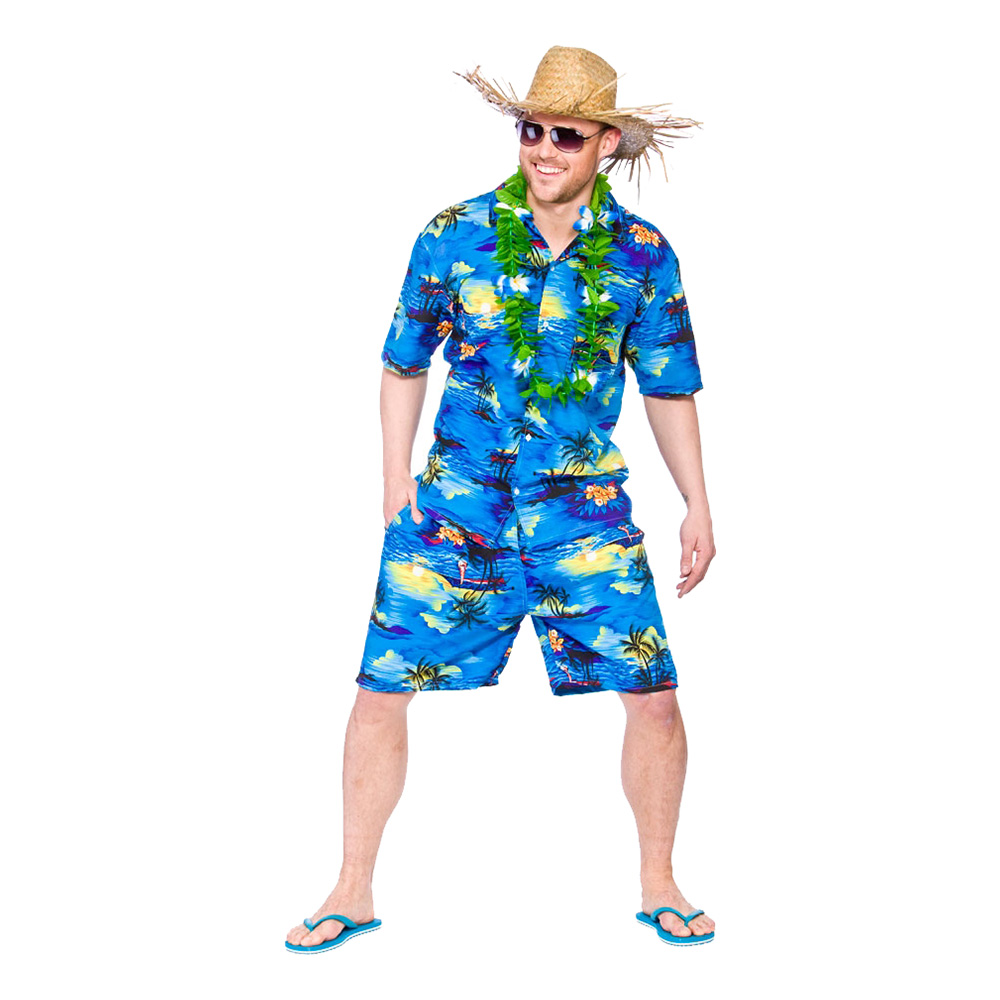 Hawaii tema | Guirlande med flipflops og Hawaii skjorter