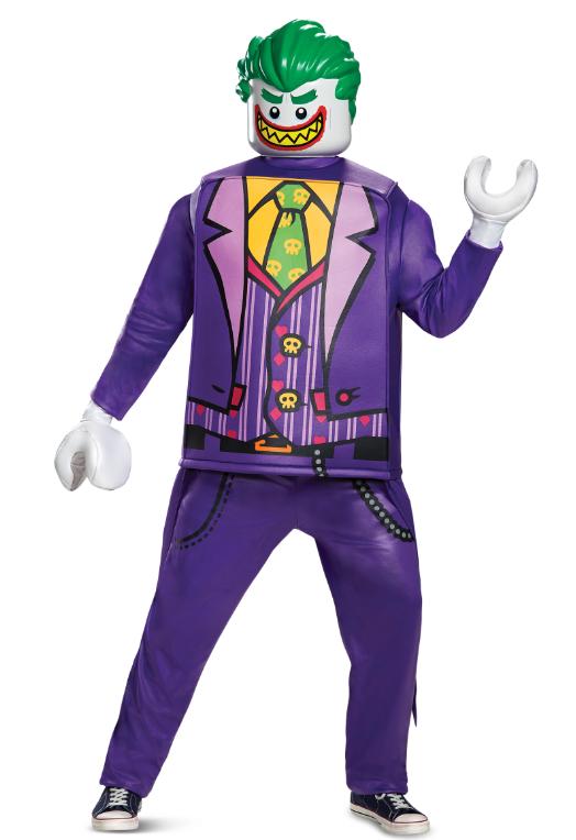 jokeren suicide squad kostume til mænd lego kostume