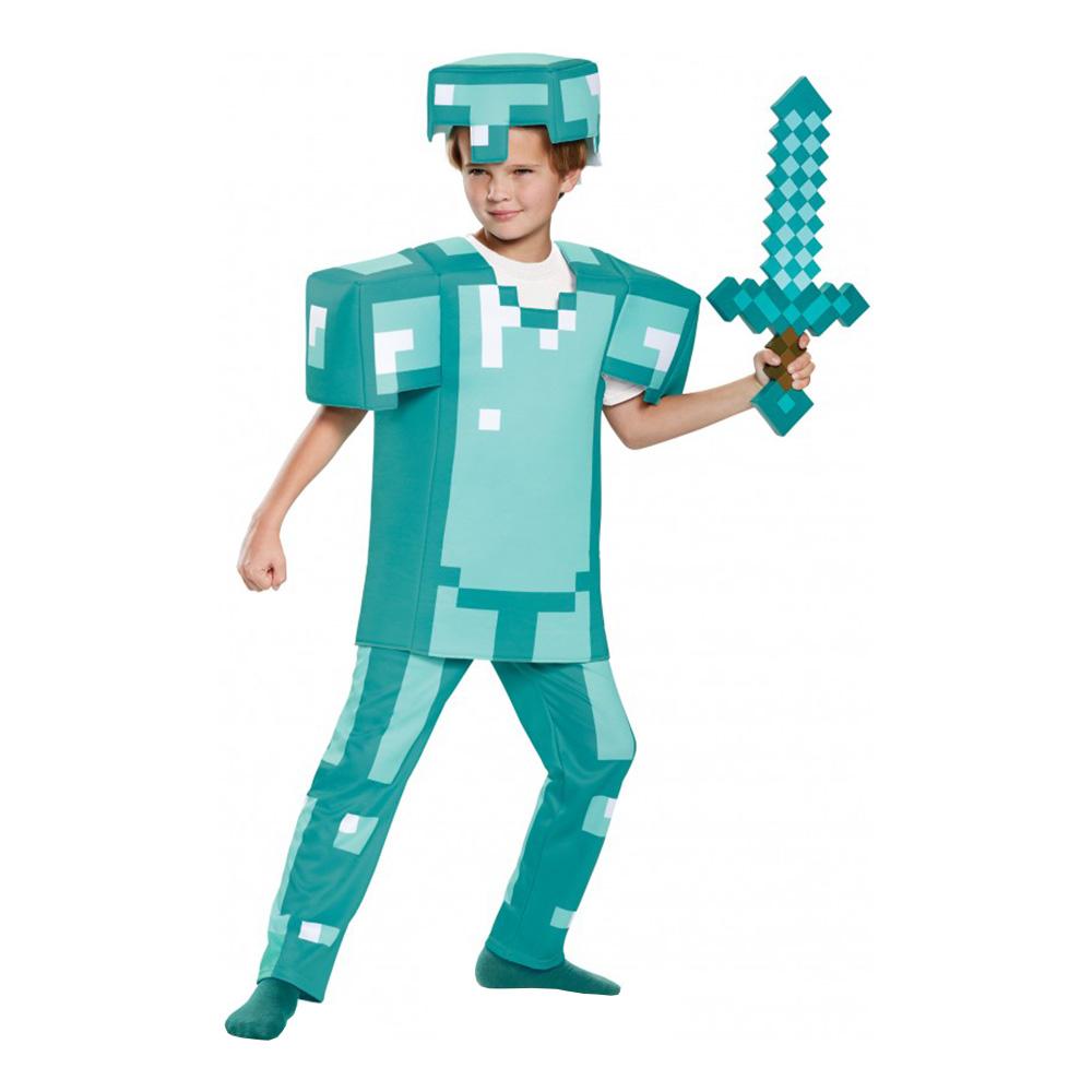 minecraft armor børnekostume - Minecraft kostume til børn