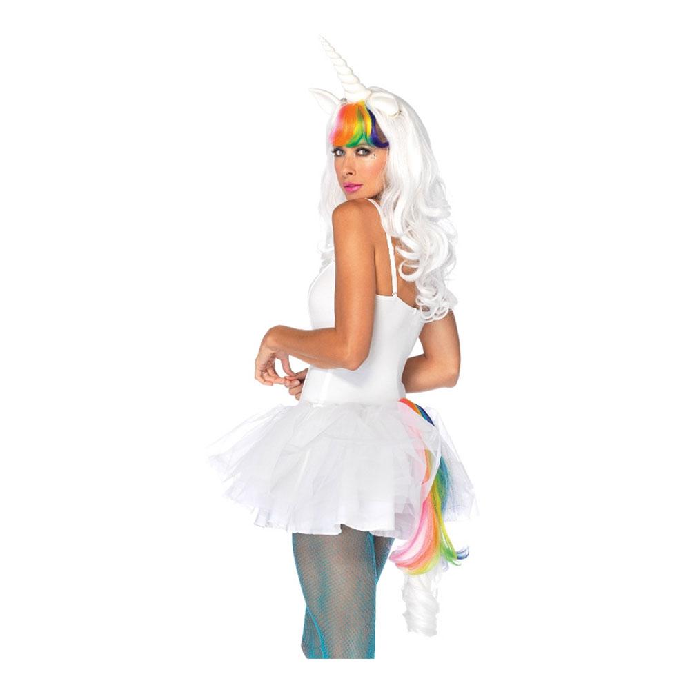 regnbue enhjørning kostume til voksne - Regnbue kostume til voksne