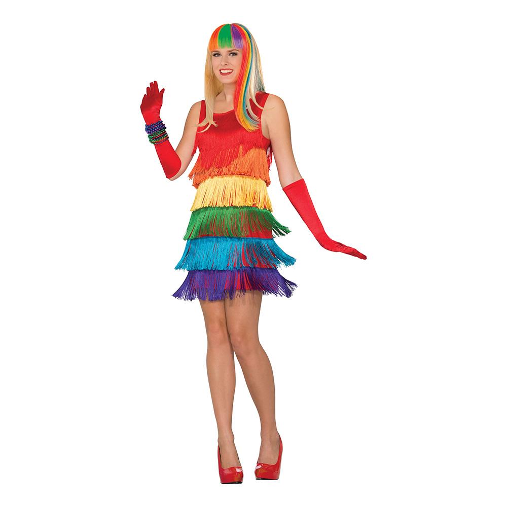 regnbue kostume til kvinder - Regnbue kostume til voksne