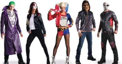suicide squad kostume til voksne