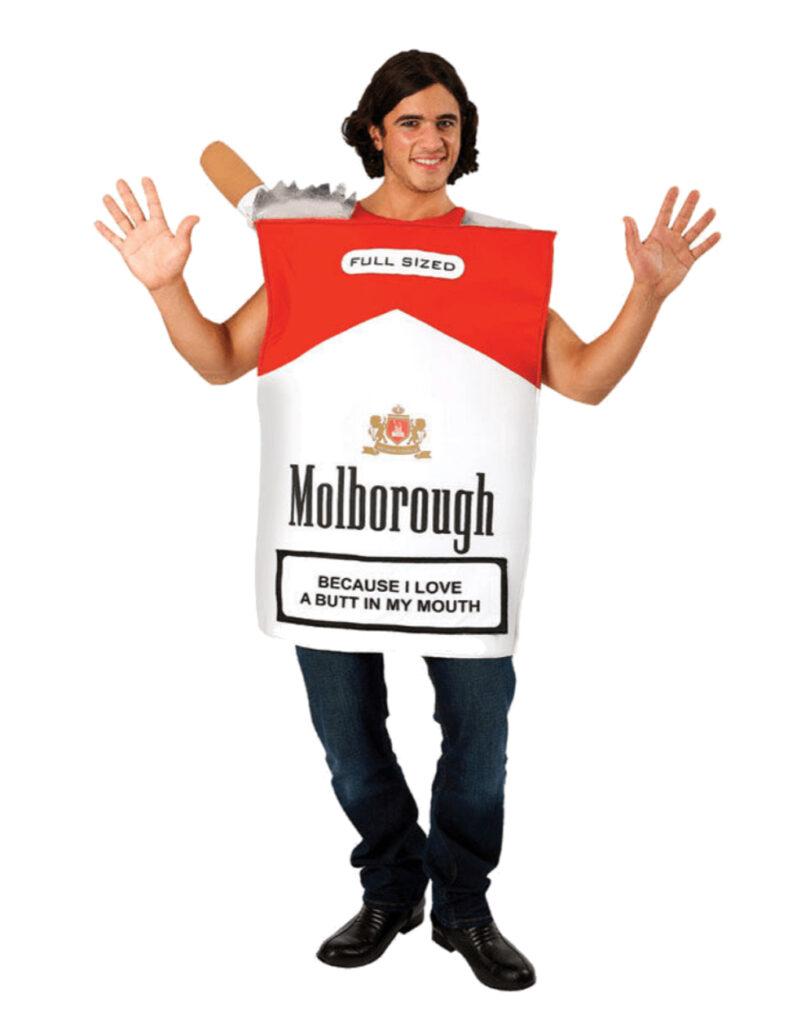 cigaret kostume cigaretpakke kostume til vokse 20 stk kostume
