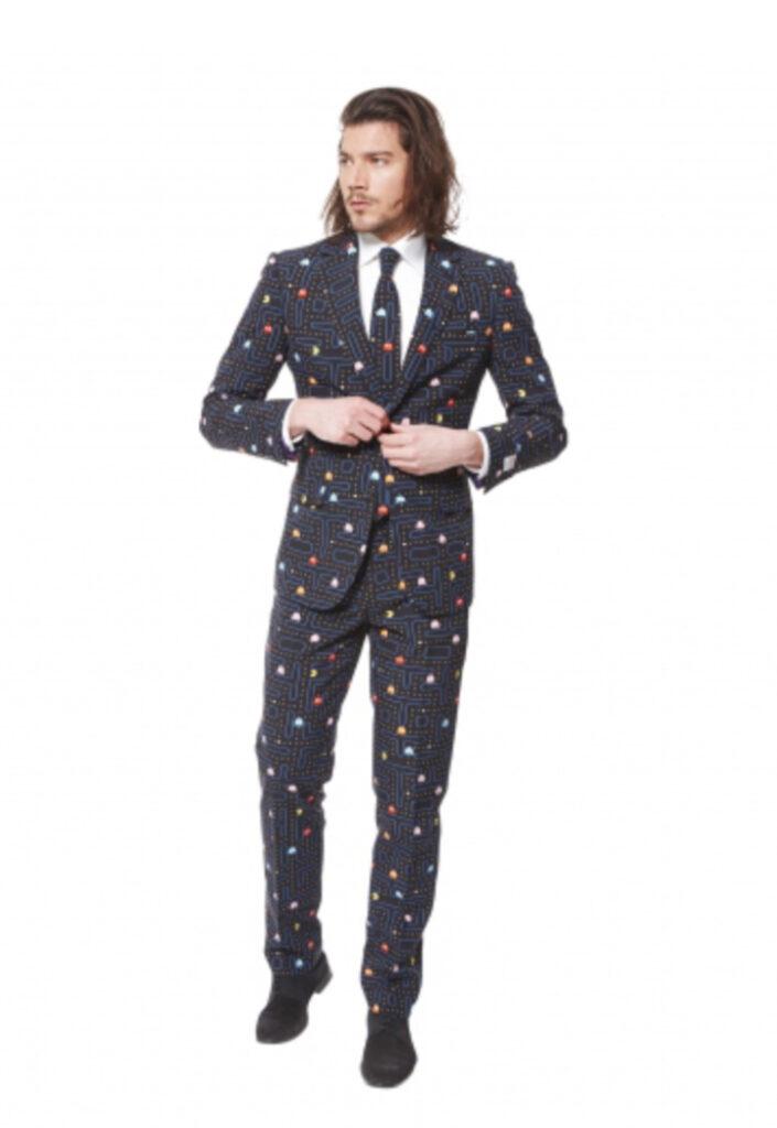 Pacman jakkesæt pac-man jakkesæt 80'er jakkesæt