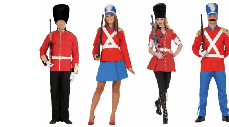 garder kostume til voksne livgarde udklædning kongeligt kostume kongelig livgarde kostume til voksne