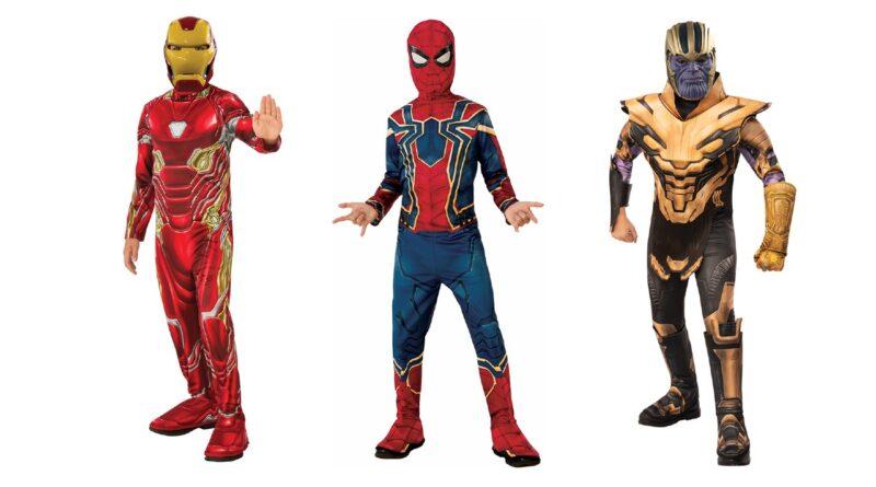 Endgame marvel kostume til børn