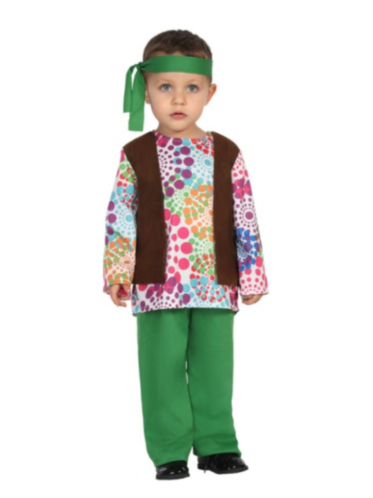 Hippie kostume til baby 767x1024 - Hippie kostume til børn